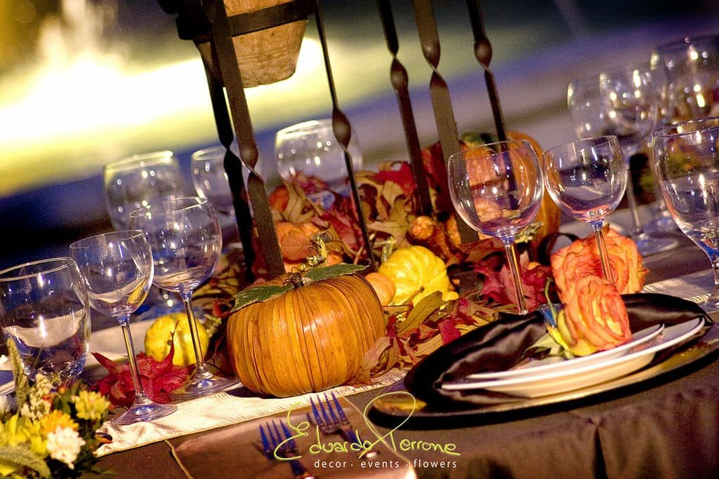 Autumn Leaf Dinner
